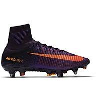 Nike Mercurial Superfly V SG-PRO - scarpe da calcio terreni morbidi, Purple