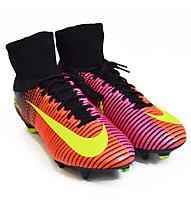 Nike Mercurial Superfly V SG-PRO - scarpe da calcio terreni morbidi, Red/Pink