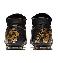 Nike Mercurial Superfly VI Academy MG - scarpe da calcio multiterreno, Black/Gold