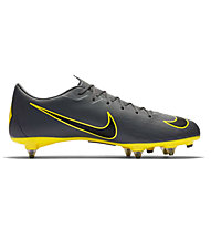 Nike Mercurial Vapor 12 Academy SG-PRO - scarpe calcio terreni morbidi, Dark Grey/Yellow