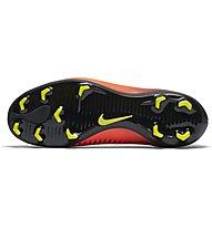 Nike Mercurial Vapor XI FG Jr - scarpe da calcio terreni compatti bambino, Total Crimson/Vlt-Blk-Pink