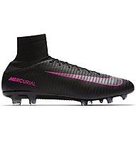 Nike Mercurial Veloce III FG - scarpe da calcio terreni compatti, Black