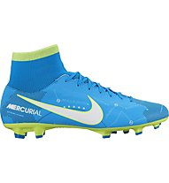 Nike Mercurial Victory VI DF Neymar FG - Fußballschuhe, Blue/White