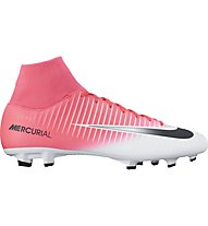 Nike Mercurial Victory VI Dynamic Fit FG - Fußballschuh - Herren, Pink/White