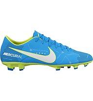 Nike Mercurial Victory VI Neymar FG - Fußballschuh, Blue/White