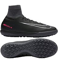 Nike Mercurial X Proximo II TF Jr - scarpe calcetto indoor bambino, Black