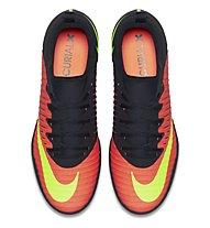 Nike MercurialX Finale II IC - scarpe calcetto indoor, Black/Red