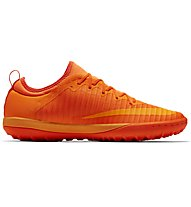Nike MercurialX Finale II (TF) - scarpe da calcio terreni duri, Orange