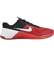 Nike Metcon 2 scarpa da ginnastica, Gym Red/White