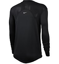 Nike Miler Women's LS Run - Langarmshirt - Damen, Black