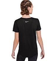 Nike Miler Run Division - Runningshirt - Damen, Black