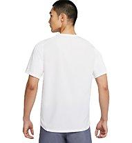 Nike Miler Run Division - Runningshirt - Herren, White