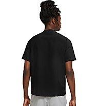 Nike Miler Run Division - Runningshirt - Herren, Black