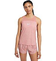 Nike Miler Run Division - Runningtop - Damen, Pink
