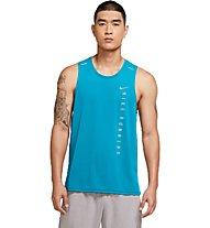 Nike Miler Run Division Hybrid - canotta running - uomo, Blue