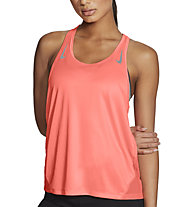 Nike Miler Running Singlet - top running - donna, Orange
