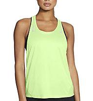 Nike Miler Running Singlet - top running - donna, Green