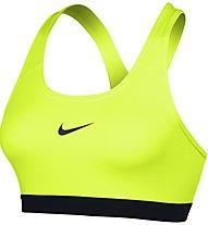 Nike New Pro Classic Bra reggiseno sportivo, Volt/Black