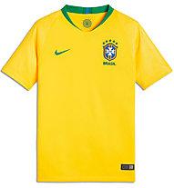 Nike 2018 Brasilien Heimtrikot Replika Jr. - Fußballtrikot - Kinder, Yellow