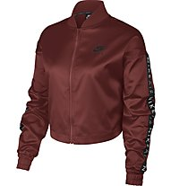 Nike Air Satin Track - Freizeitjacke - Damen, Red