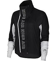 Nike Full-Zip Running - giacca running - donna, Black/White