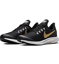 Nike Air Zoom Pegasus 35 Shield GS - scarpe running neutre - bambino, Black