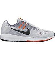 Nike Air Zoom Structure 20 - Neutral-Laufschuhe - Herren, Grey/Orange