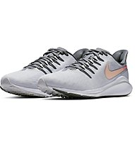Nike Air Zoom Vomero 14 - scarpe running neutre - donna, Light Grey/Rose