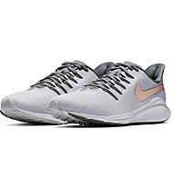 Nike Air Zoom Vomero 14 - Laufschuhe Neutral - Damen, Light Grey/Rose