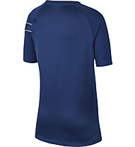 Nike Dri-FIT CR7 Big Soccer - T-shirt calcio - bambino, Blue