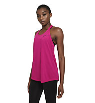 Nike NK Dry Ess Elastika - Top fitness - donna, Pink