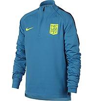 Nike Nike Dry Neymar Squad Drill - langärmliges Fußballtrikot, Blue