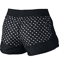 Nike Franchise Printed Short - kurze Damenhose, Black/White