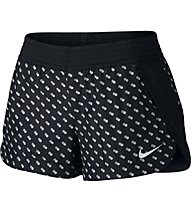 Nike Franchise Printed Short Donna, Black/White