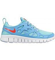 Nike Free Run 2 (GS) Scarpa tempo libero bambino, Blue