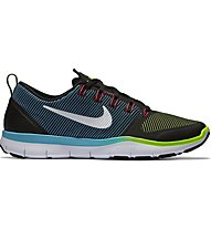 Nike Free Train Versatility Turnschuh Herren, Black/Green/White