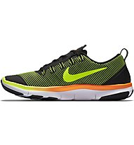 Nike Free Train Versatility Turnschuh Herren, Black/Yellow