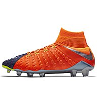 Nike Nike Hypervenom Phantom III Dynamic Fit FG - Fußballschuh, Blue/Orange