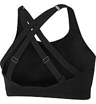 Nike Impact Women's Strappy High-Support Sports Bra - Sport BH hoher Stützungslevel - Damen, Black