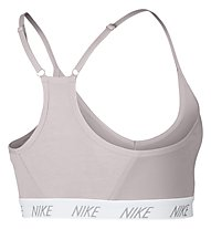 Nike Indy Soft Bra (Cup B) - reggiseno sportivo, Light Grey