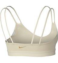 Nike Indy Sparkle Bra - Sport BH leichter Halt - Damen, White