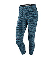Nike Nike Leg-A-See Allover Print Pant, Light Blue Lacquer/Black