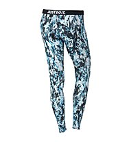 Nike Leg-A-See Mishmash Leggings Damen, Light Blue Lacquer/Black