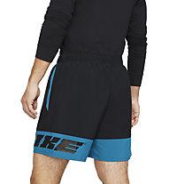 Nike M Training - Trainingshose kurz - Herren, Black/Blue