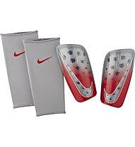 Nike Nike Mercurial Lite - parastinchi da calcio, Grey/Red