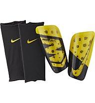 Nike Nike Mercurial Lite - parastinchi da calcio, Black/Yellow