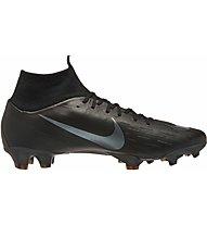 Nike Nike Mercurial Superfly VI Pro FG - scarpa calcio terreni compatti, Black