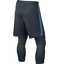Nike Nike Neymar Dry Squad 2-in-1 - Fußballhose, Blue