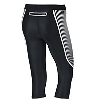 Nike Power Speed Capri tight 3/4 running donna, Black