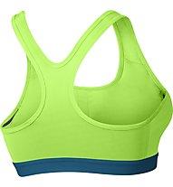 Nike Pro Classic Padded - Funktionswäsche BH - Damen, Green